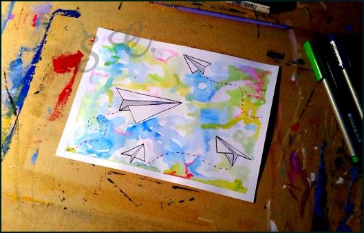 Aeroplanini di carta - Serena Cendron